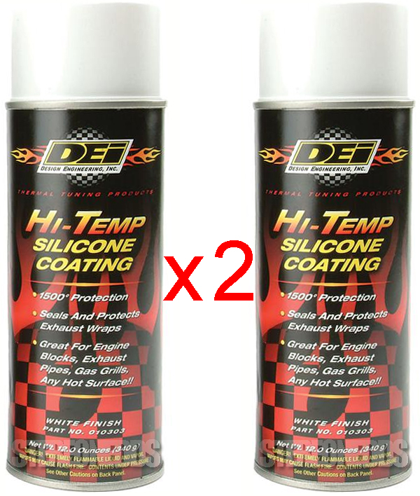White one can, DEI HT Silicone Coating 010303