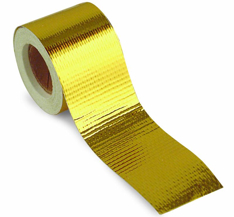 """DEI 010395 Reflect A Gold Tape 1-1//2/"""" x 30/' Roll Heat Wrap Barrier Reflects Heat"""