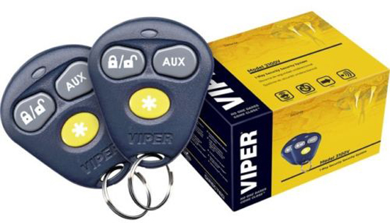 NEW VIPER 3100V ONE WAY CAR SECURITY ALARM SYSTEM 2 REMOTES SHOCK