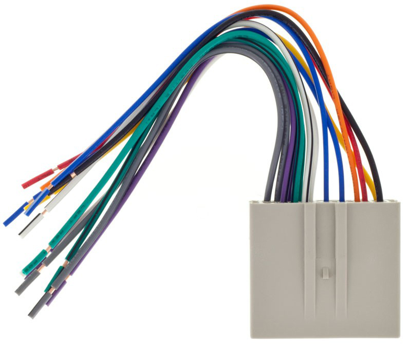 authentic metra 70 5520 car stereo wiring harness for select 2003