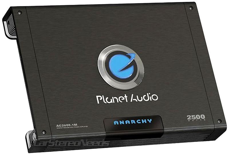 Details about PLANET AUDIO AC2500 1M 2500 WATT ANARCHY MONO AMPLIFIER  MONOBLOCK CAR STEREO AMP
