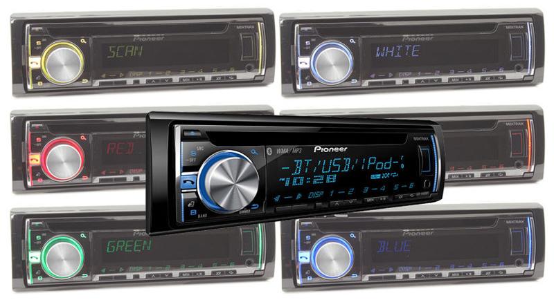 deh x66bt1 pioneer deh x66bt car cd receiver bluetooth usb direct control