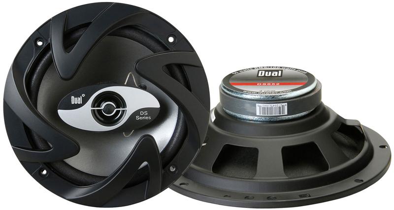 Dual DS652 100-Watt 2-Way 6.5-Inch DS Series 2-Way Car Speaker System