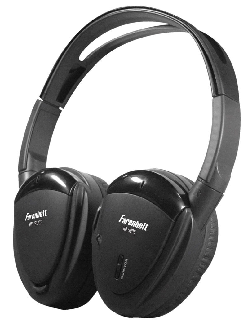 WIRELESS DUAL CHANNEL RF HEADPHONE