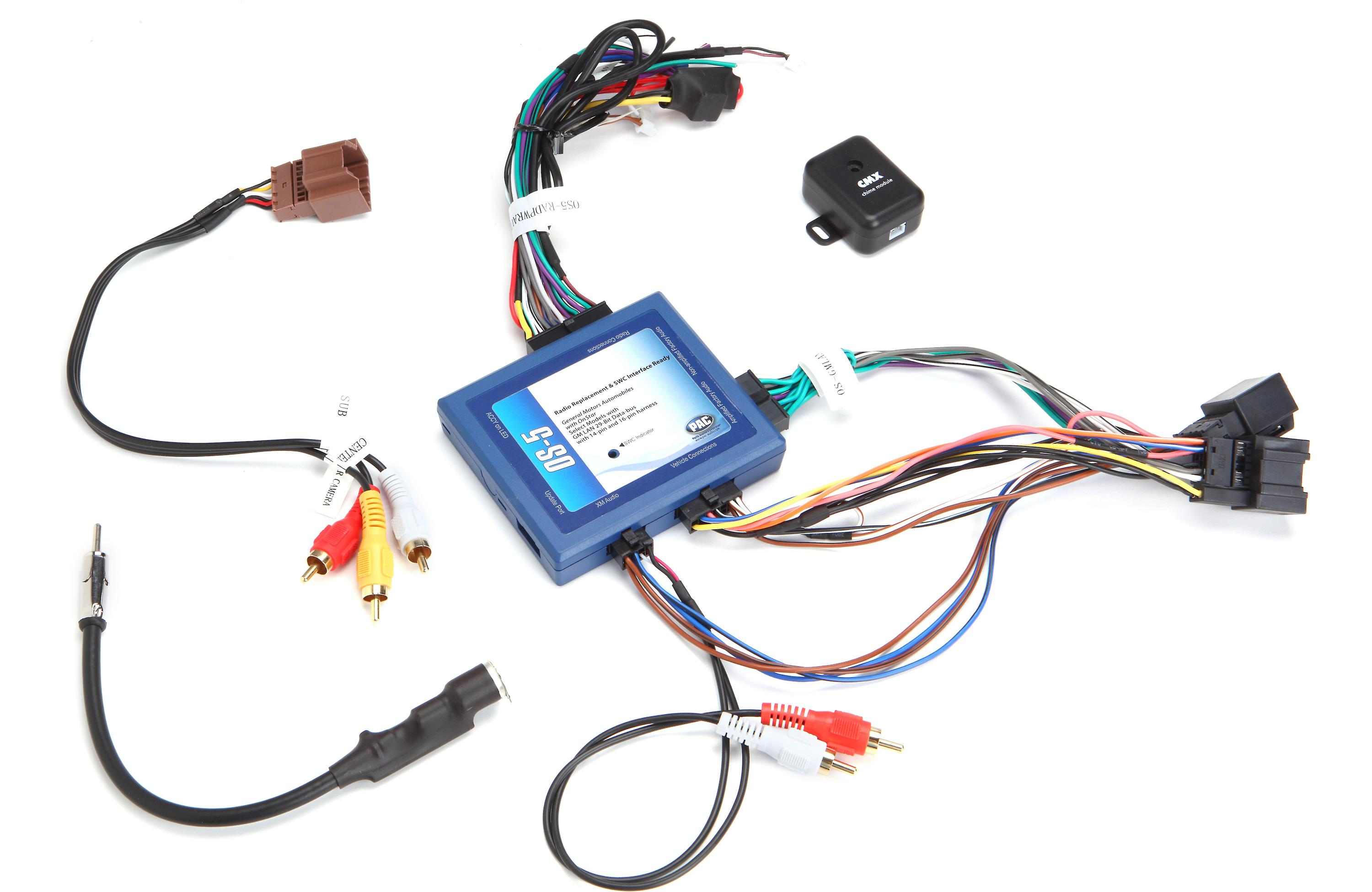 pac os 5 radio replacement interface harness for select gm vehicles rh ebay com