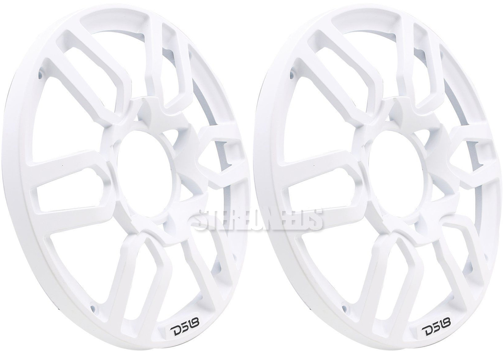 Ds18 Pro Grill8 Universal 8 White Plastic Speaker Grill Cover 2 Sub