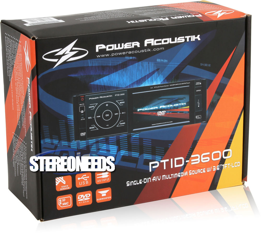 Power Acoustik Ptid 8920b Wiring Diagram Brand New In Dash Player With 1000x891