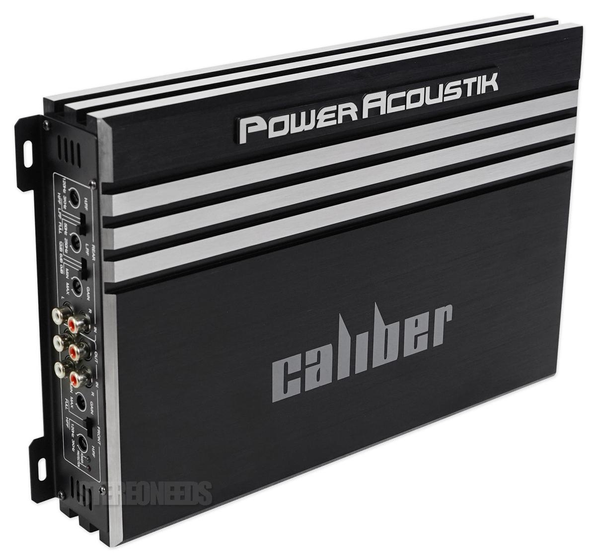 Power Acoustik RE4-1600D 1600 Watt 4-Channel Class A//B Car Stereo Amp Amplifier