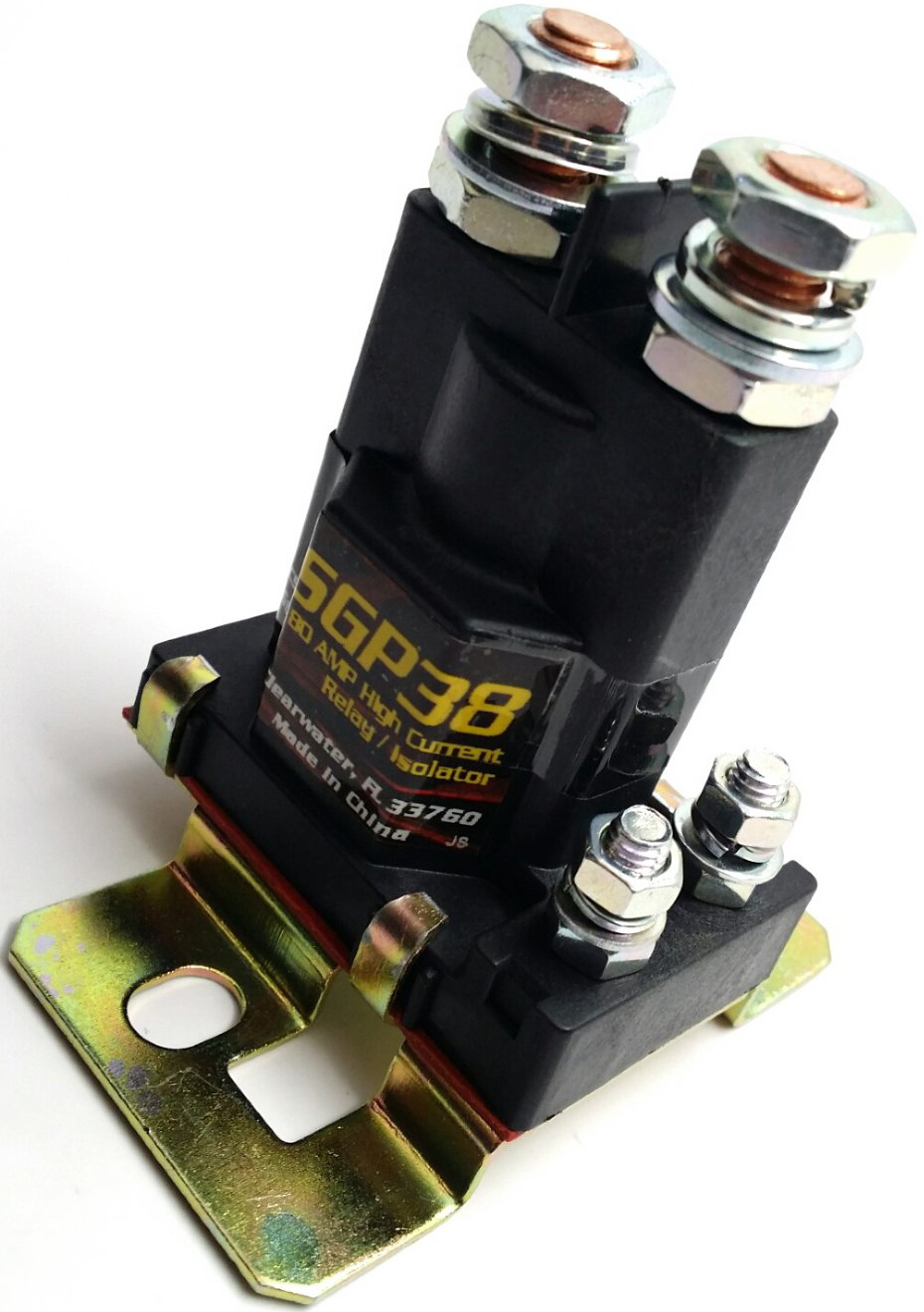 Stinger Sgp38 Amp Battery Isolator And Audio Relay Sgp38