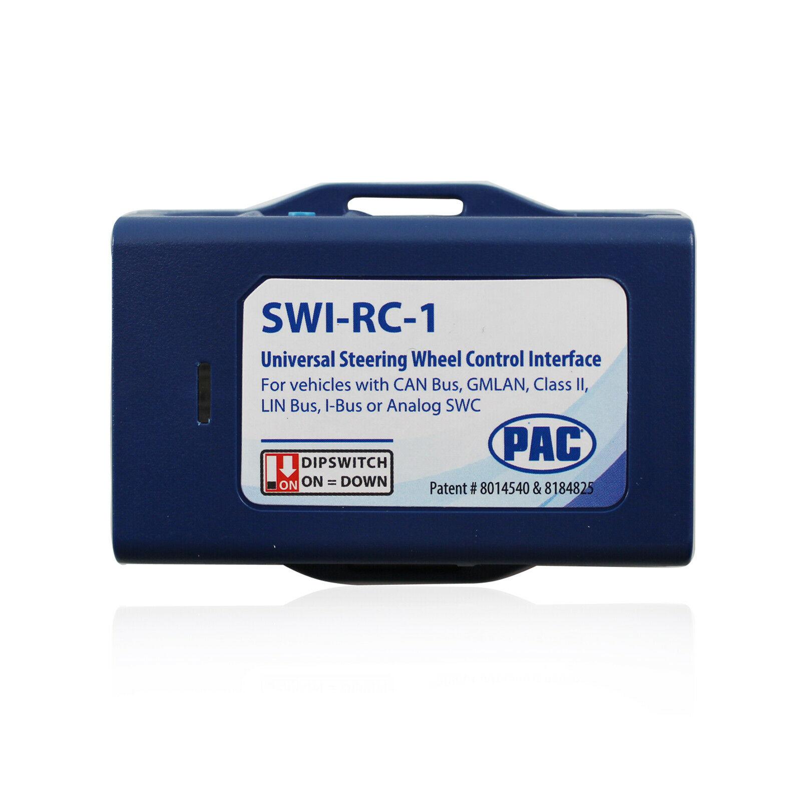 PAC SWI-RC SWI-JACK SWI-PS STEERING WHEEL CONTROL RETENTION INTERFACE ADAPTER