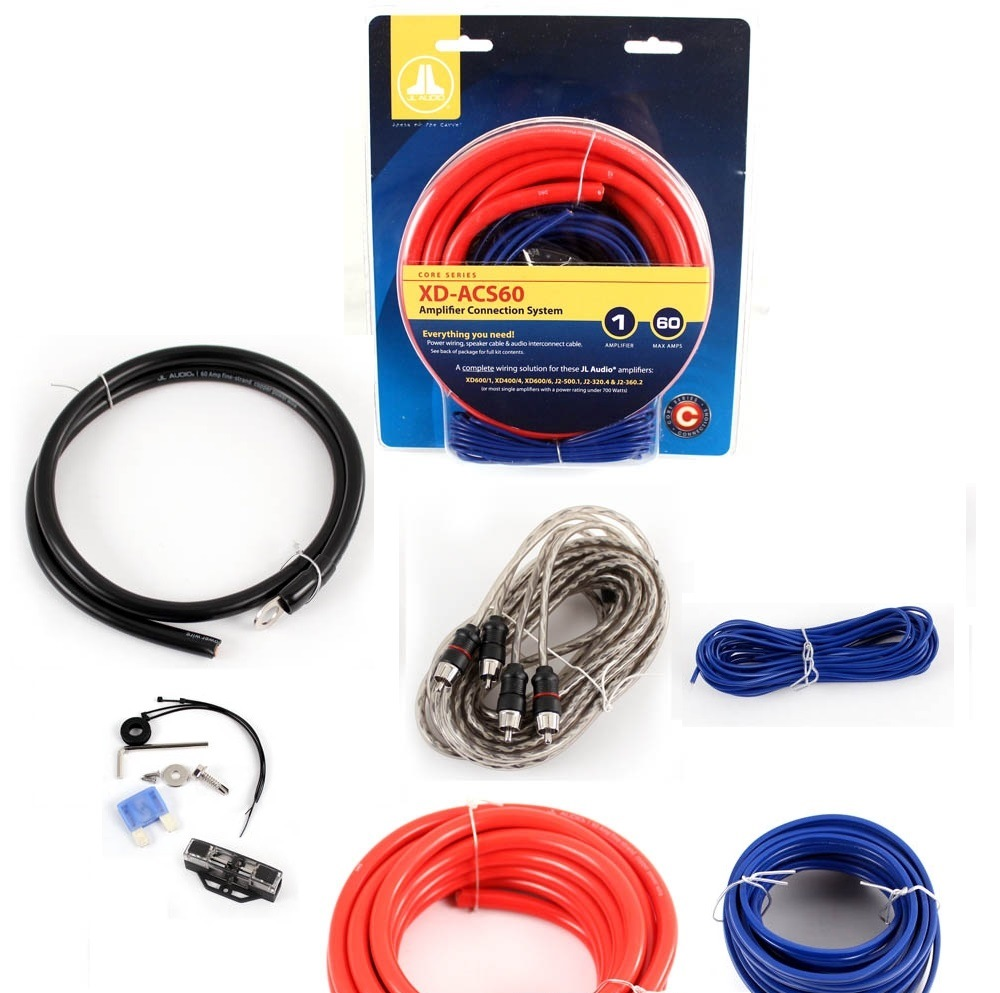 JL AUDIO XD-ACS60 6 GAUGE AMPLIFIER AMP WIRE INSTALLATION KIT SPEAKER WIRE  60A 699440903578 | eBayeBay