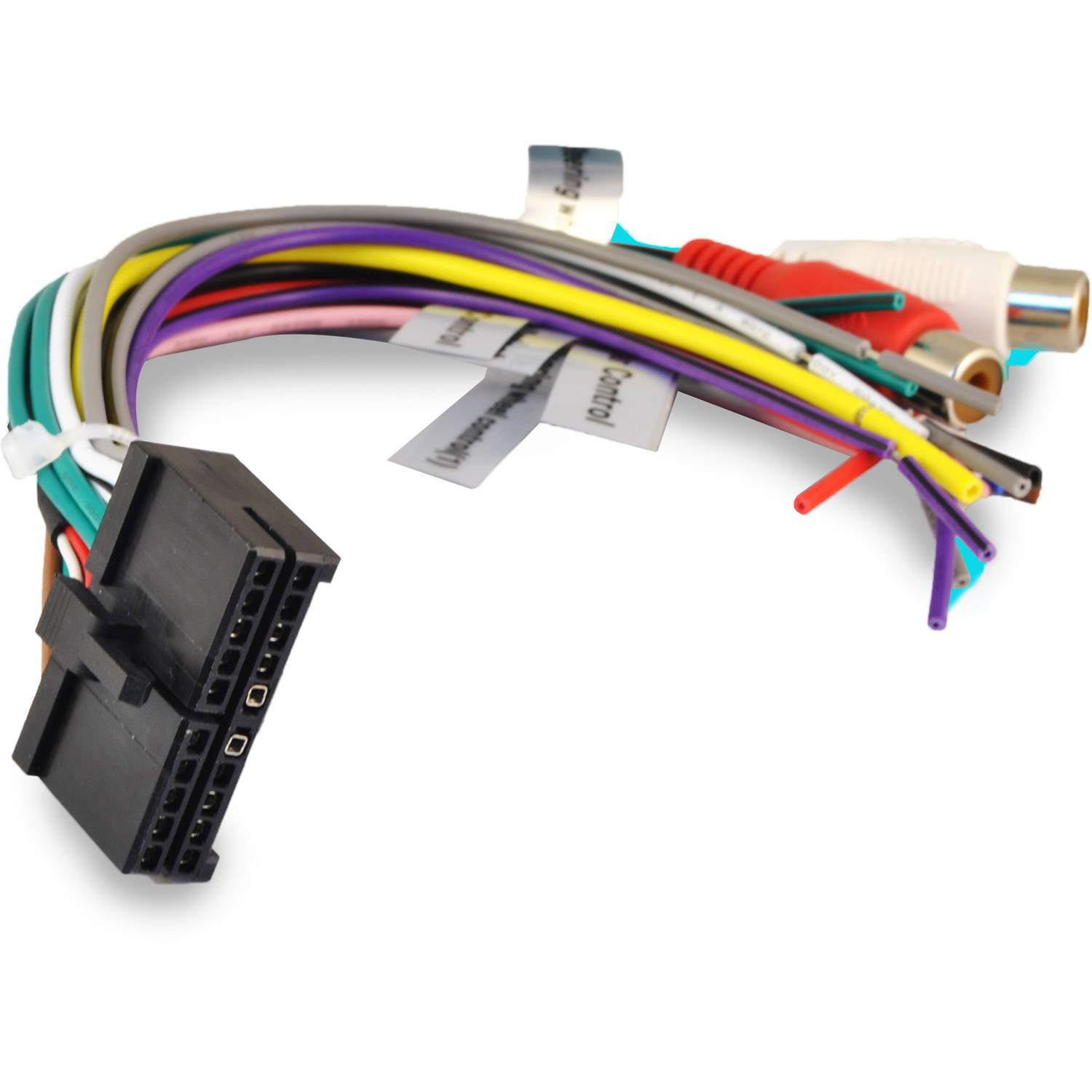 Power Acoustik Wiring Harness Solutions Jensen 20 Pin Ptid 7350nrbt